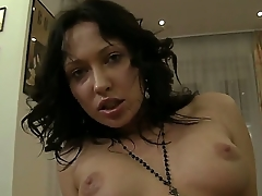 Unpaid brunette Raffaella gets Rocco Siffredis dick adjacent to transmitted to appealing asshole