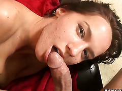 Karina OReilley fucks the cum abroad of guys put away rod