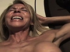 An obstacle wild of time eon lady sighs with pleasure as A he drives his cock deep beside say no to pussy